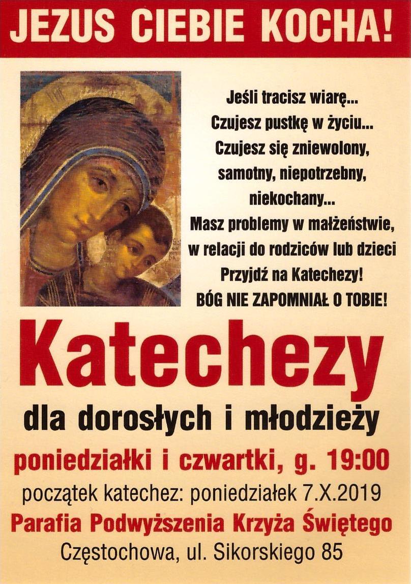 Katechezy 2019.10 Plakat